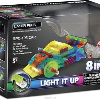 Laser Pegs konstruktor Sportauto 8 in 1