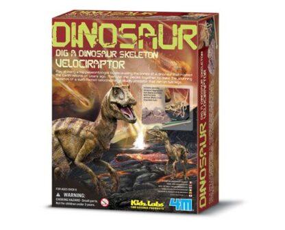"Väljakaevamiskomplekt ""Velociraptor"""