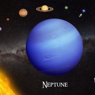 "3D postkaart ""Neptuun"""