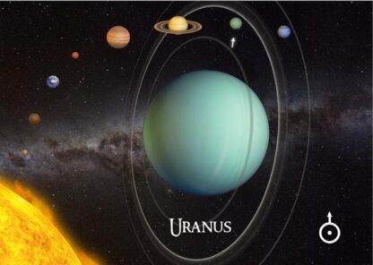 """3D postkaart """"Uraan"""""""
