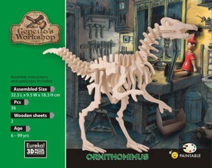 "3D pusle ""Ornithomimus"""