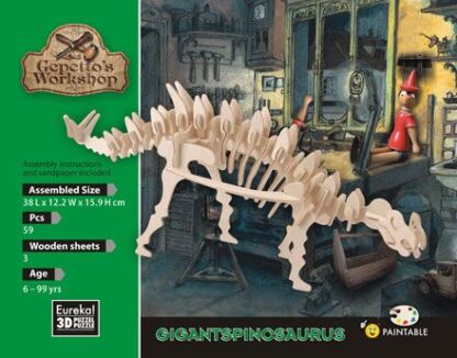 "3D pusle ""Gigantspinosaurus"""