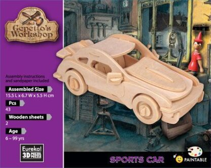 "3D pusle ""Sportauto"""