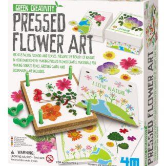 Pressitud lillede kunst