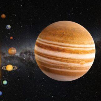 "3D postkaart ""Jupiter"""