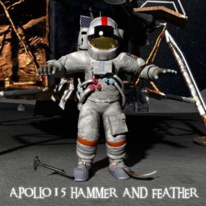 """3D postkaart """"Apollo 15"""""""