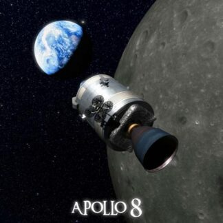 "3D Postkaart ""Apollo 8"""