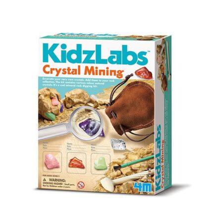 Kristallide kaevandamine