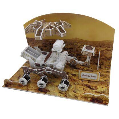 """3D pusle """"Curiosity Rover"""""""