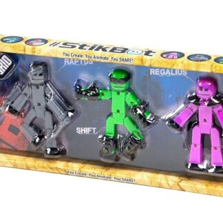 "Stikbot ""Kolm sõdalast: Raptus, Shift, Regalius"""