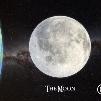 """3D postkaart """"Kuu"""""""