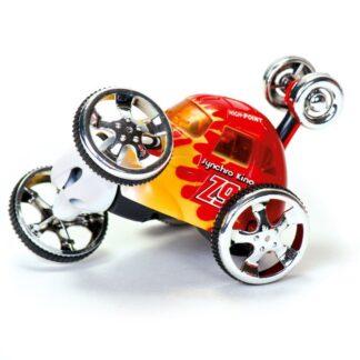 """Puldiga juhitav punane akrobaat-auto """"Spinster"""""""
