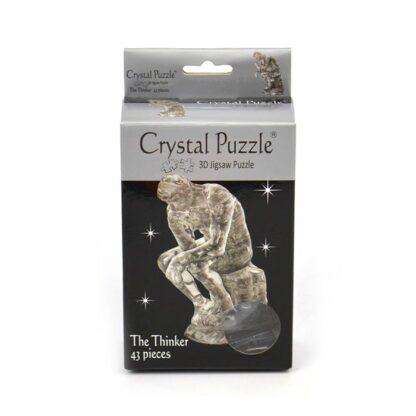 """Kristallpusle Skulptuur """"Mõtleja"""""""