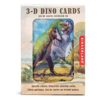 """3D mängukaardid """"Dinosaurused"""""""