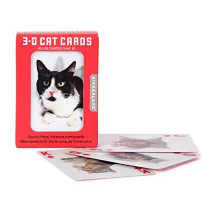"""3D mängukaardid """"Kassid"""""""