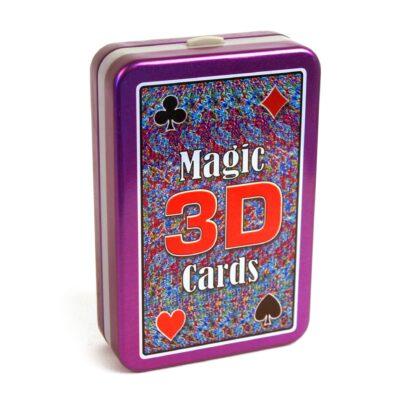 3D maagilised mängukaardid