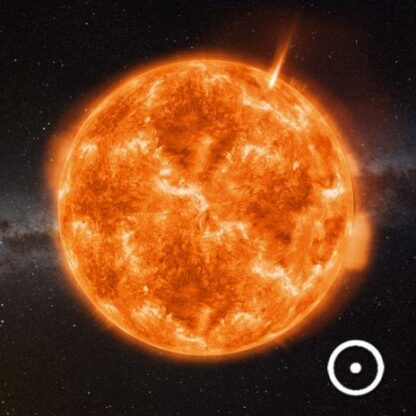 "3D magnet ""Päike"""