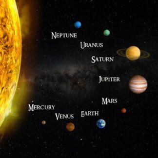 """3D magnet """"Päikesesüsteem"""""""