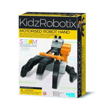 Motoriseeritud robotkäsi
