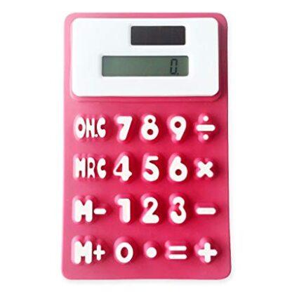 Päikesepatareiga painduv kalkulaator