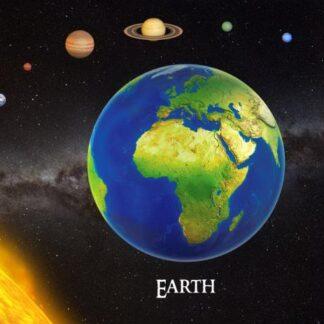 """3D postkaart """"Maa"""""""