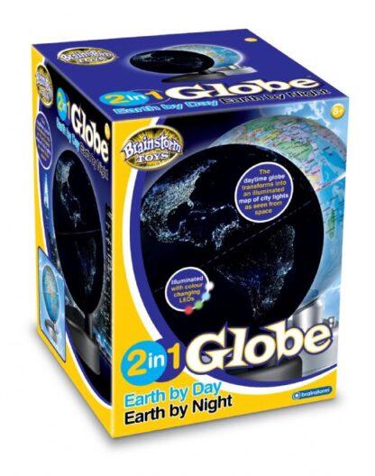 Gloobus Maa päeval, Maa öösel