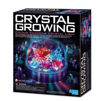 Kristallikasvatus LED-tuledega