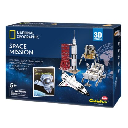 "3D pusle National Geographic ""Kosmosemissioon"""