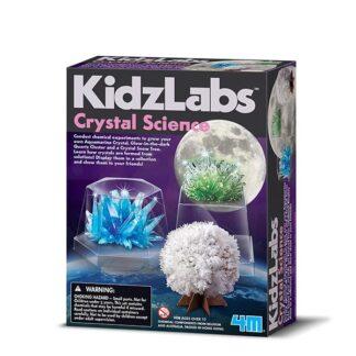 Erinevate kristallide kasvatamine