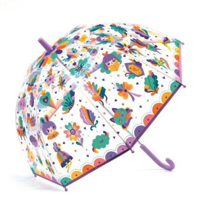 Laste vihmavari lilla